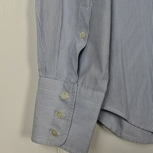 J. Crew Tops - J.Crew Slim Fit Kathryn Pinstripe Button Down